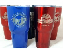 Powder Coated Cup Engraving (cups not included)