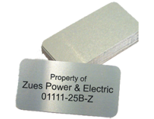 Industrial Metal Tags