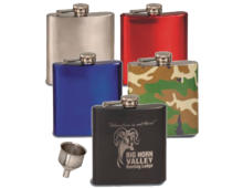 Personalized Color Flasks