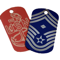 Dog Tags - Anodized